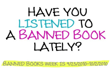 have you listened to a banned book lately?